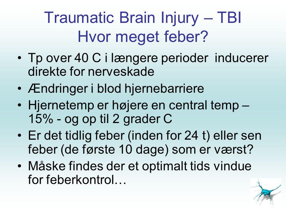 Traumatic Brain Injury – TBI Hvor meget feber