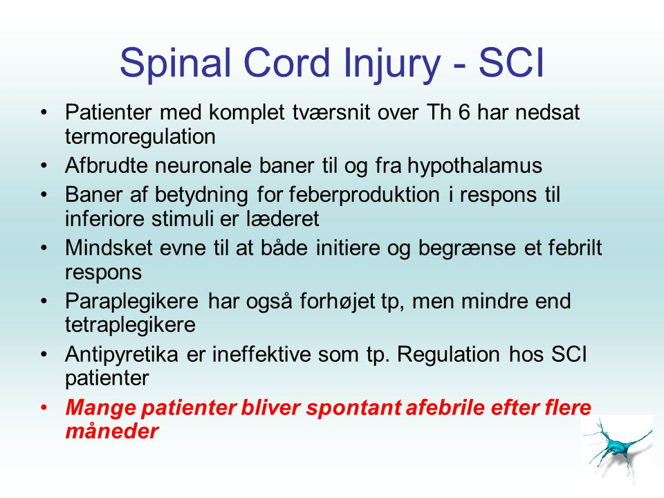 Spinal Cord Injury - SCI