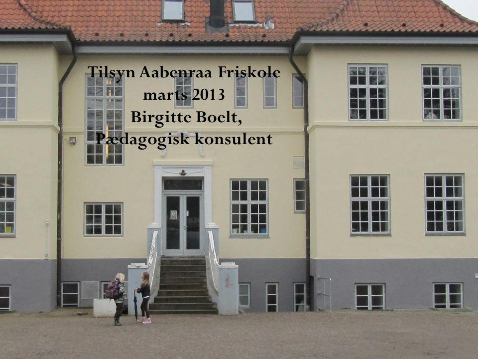 Tilsyn Aabenraa Friskole