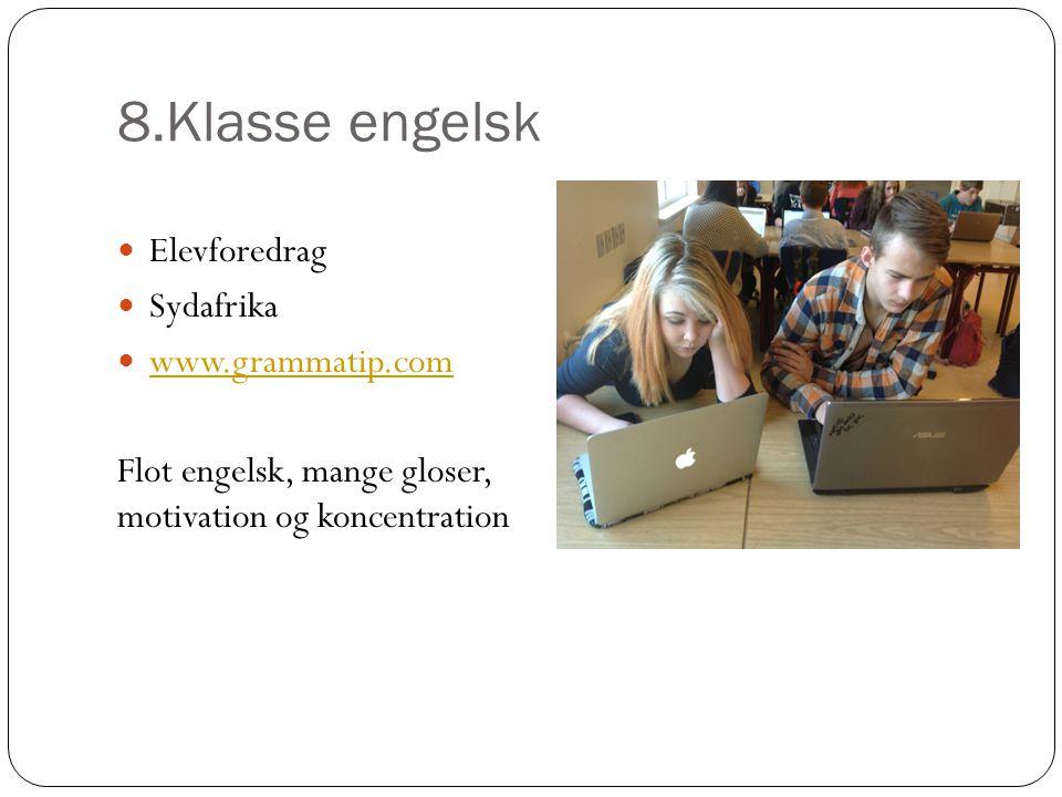 8.Klasse engelsk Elevforedrag Sydafrika www.grammatip.com