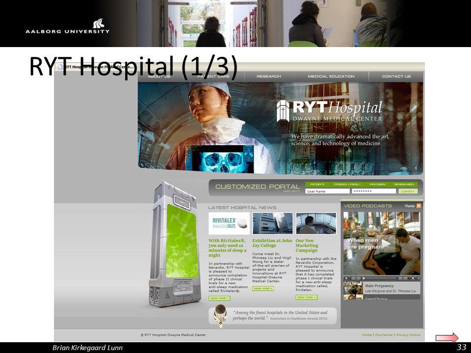 RYT Hospital (1/3) Brian Kirkegaard Lunn