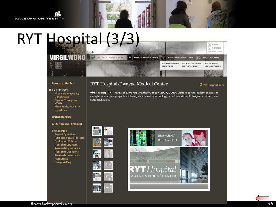 RYT Hospital (3/3) Brian Kirkegaard Lunn