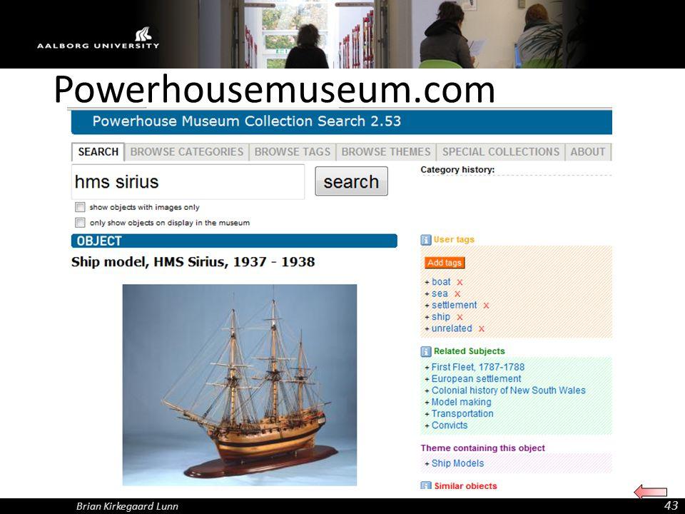 Powerhousemuseum.com Brian Kirkegaard Lunn