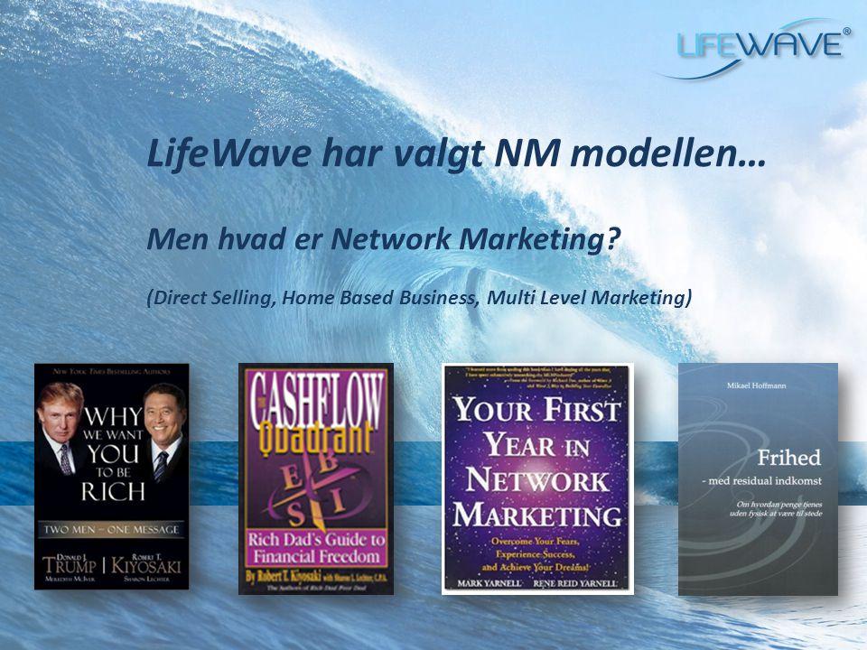 LifeWave har valgt NM modellen…