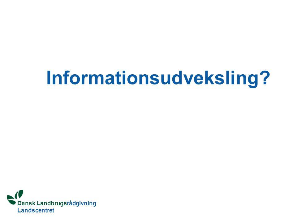 Informationsudveksling