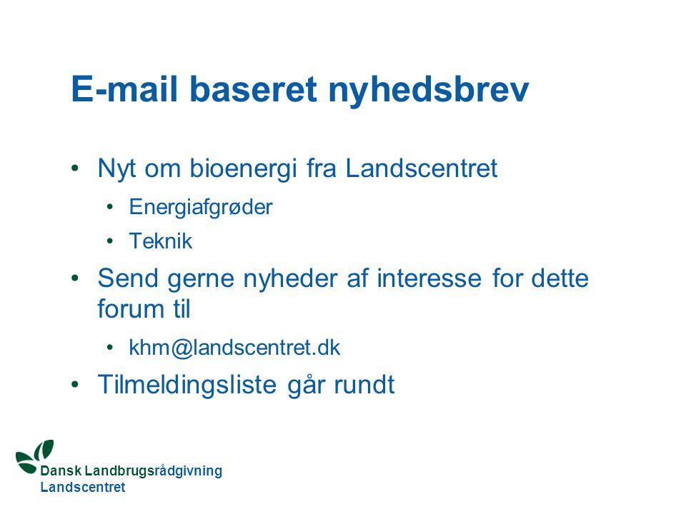 E-mail baseret nyhedsbrev