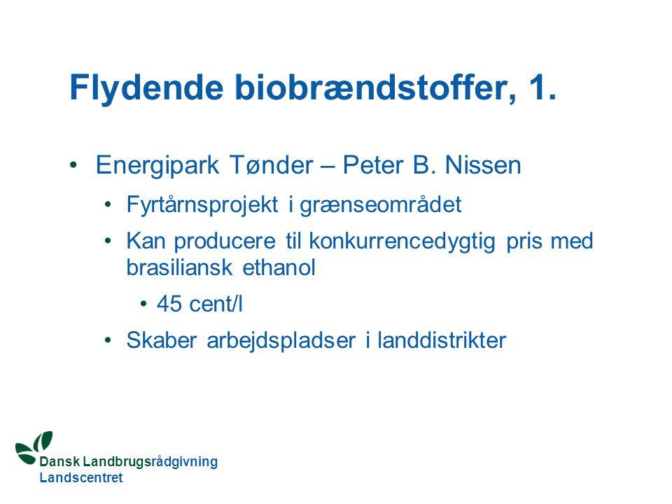 Flydende biobrændstoffer, 1.