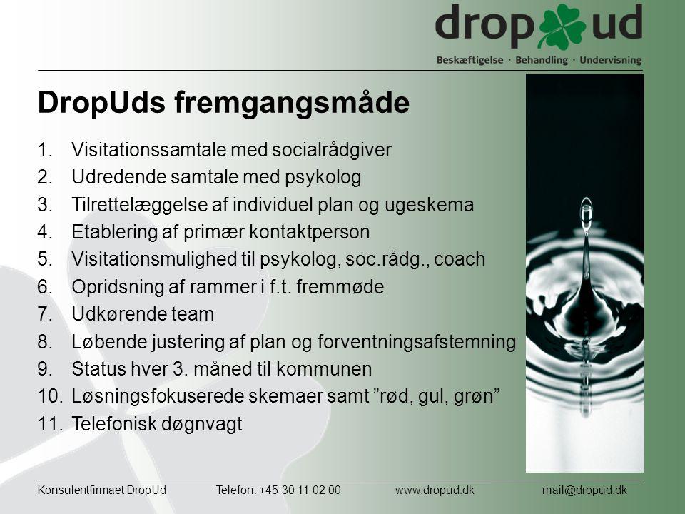 DropUds fremgangsmåde