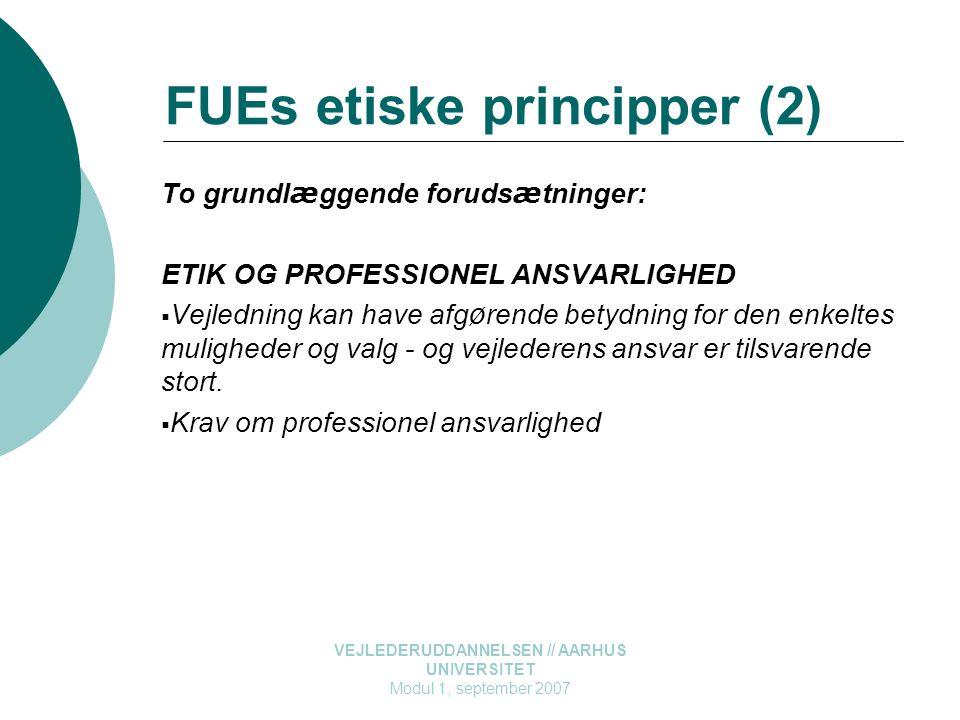 FUEs etiske principper (2)