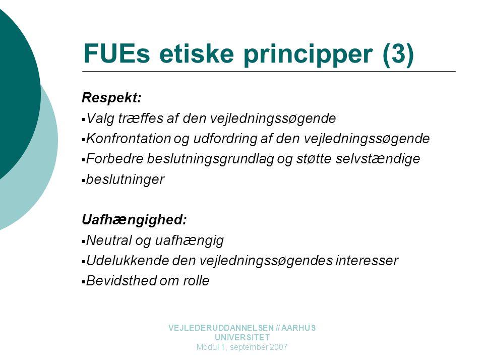 FUEs etiske principper (3)