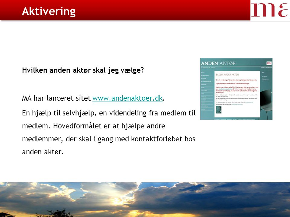 CV – Jobnet / Arbejdsgiver