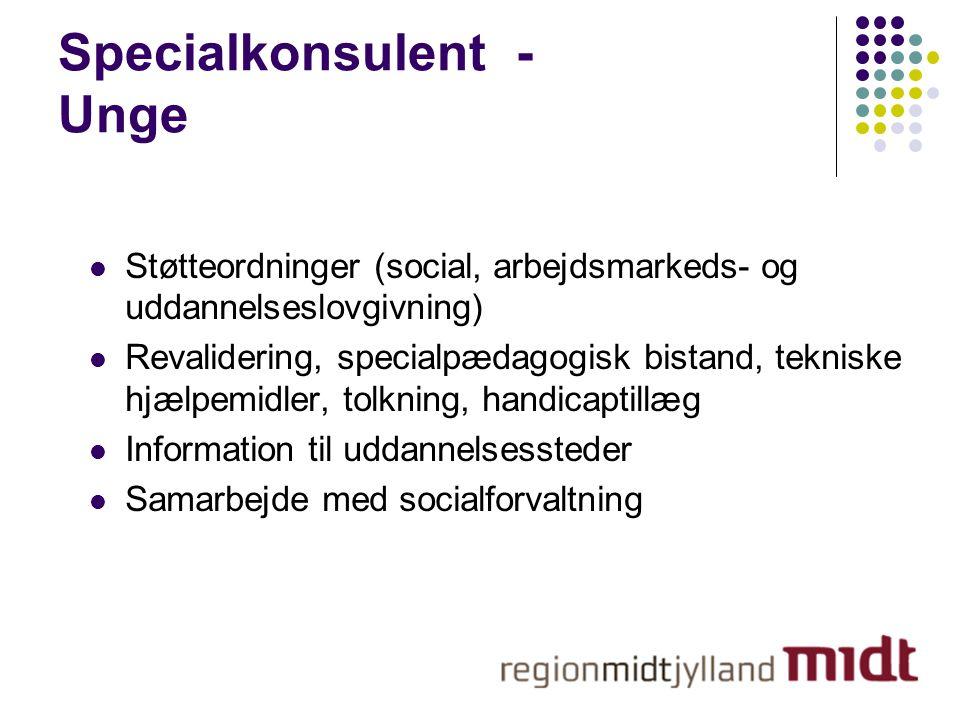 Specialkonsulent - Unge