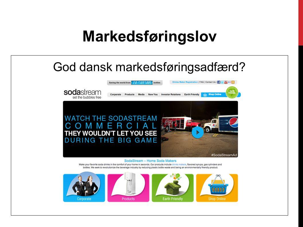 God dansk markedsføringsadfærd