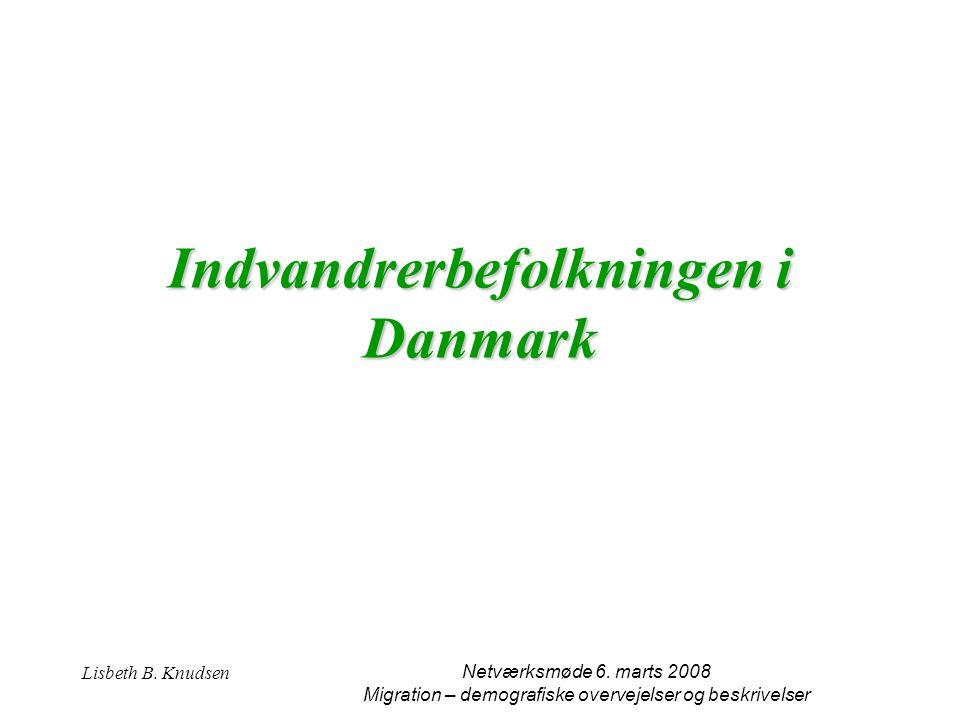 Indvandrerbefolkningen i Danmark