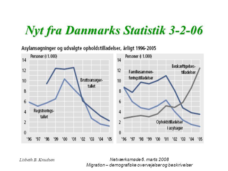Nyt fra Danmarks Statistik 3-2-06