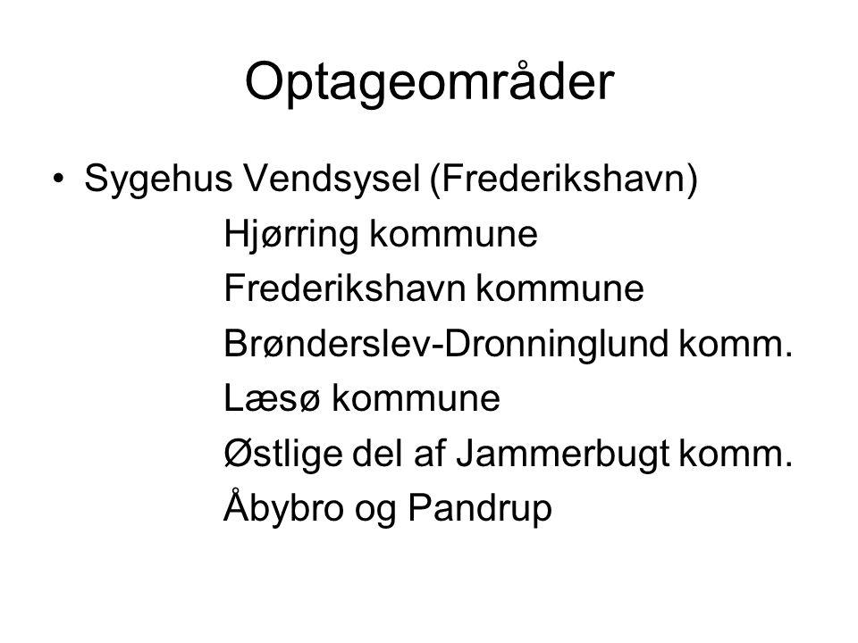 Optageområder Sygehus Vendsysel (Frederikshavn) Hjørring kommune