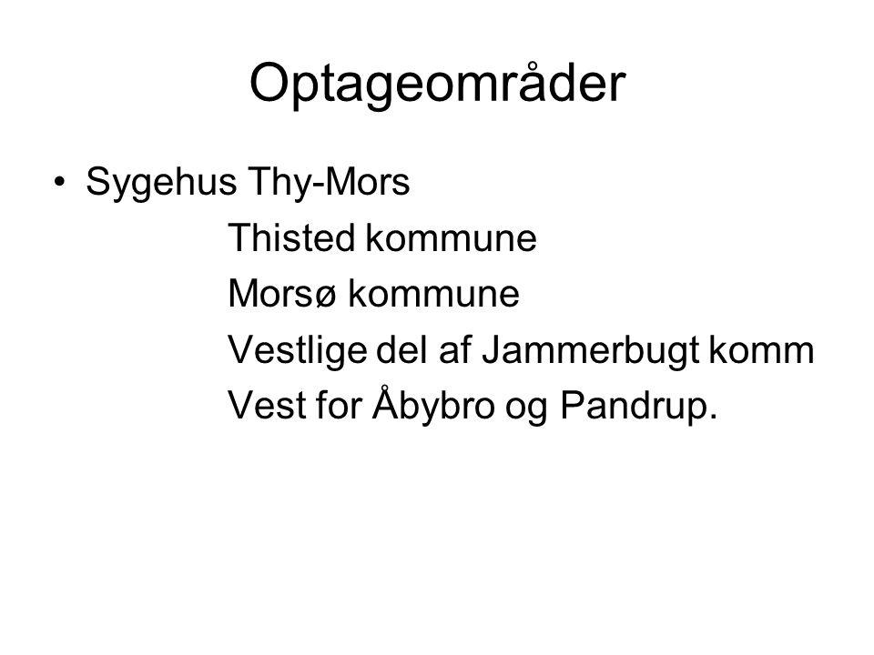 Optageområder Sygehus Thy-Mors Thisted kommune Morsø kommune