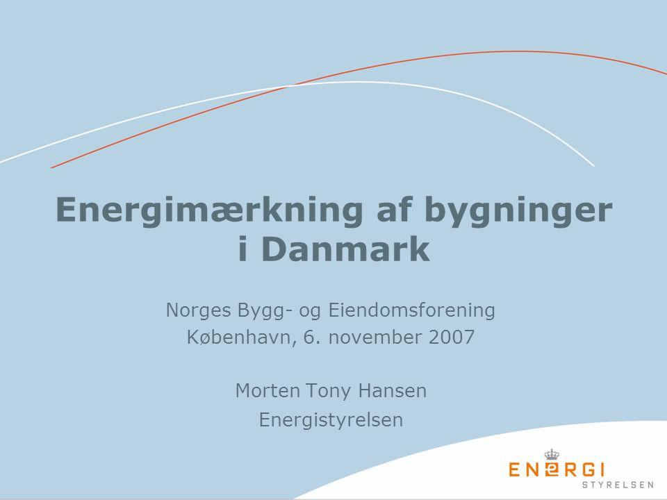 Energimærkning af bygninger i Danmark