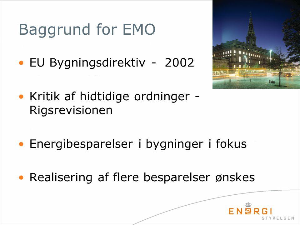 Baggrund for EMO EU Bygningsdirektiv - 2002