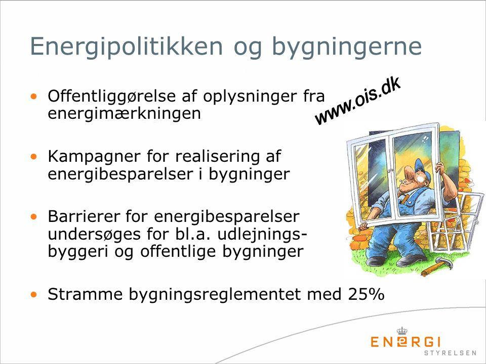 Energipolitikken og bygningerne