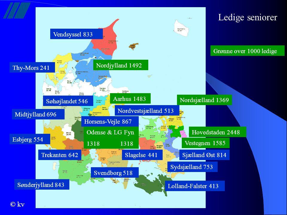Ledige seniorer Vendsyssel 833 Grønne over 1000 ledige