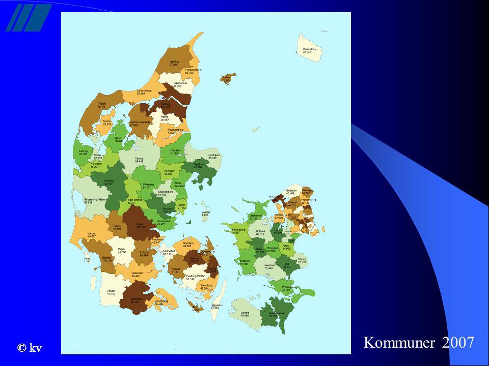 Kommuner 2007 © kv