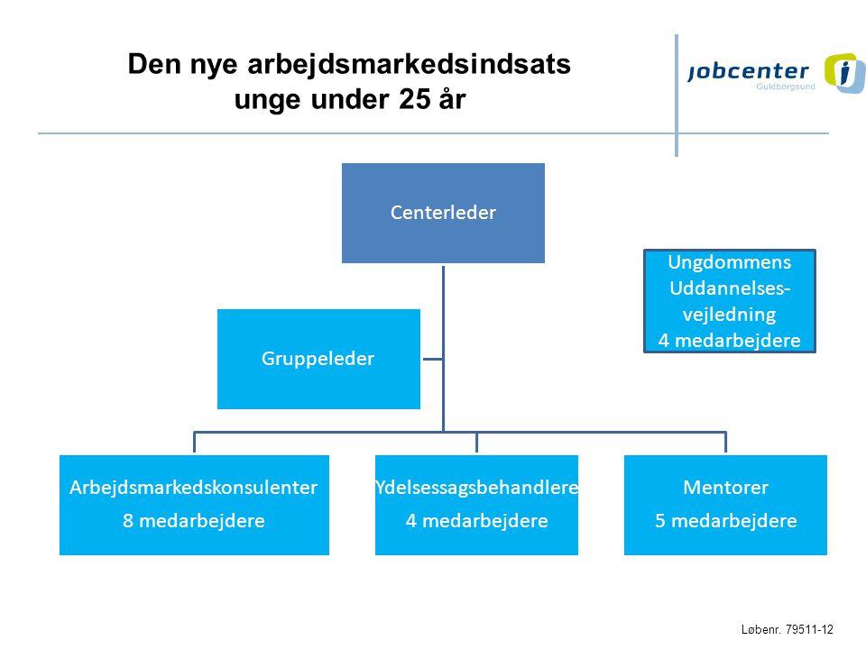 Den nye arbejdsmarkedsindsats unge under 25 år