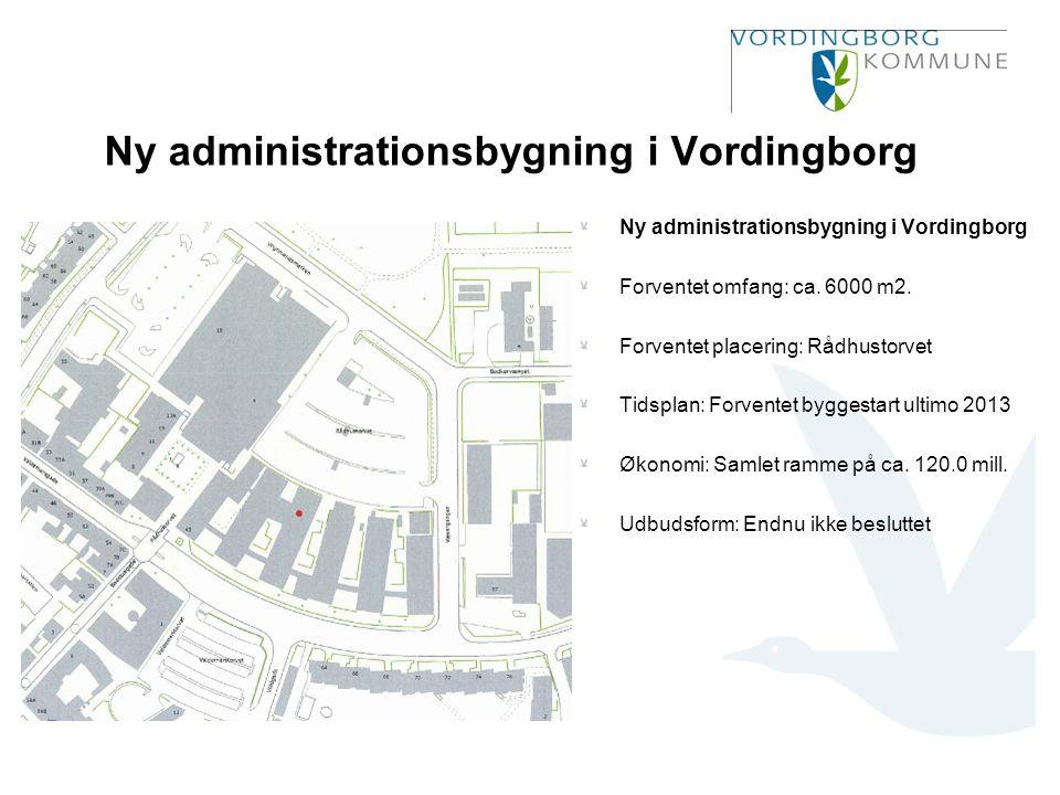 Ny administrationsbygning i Vordingborg