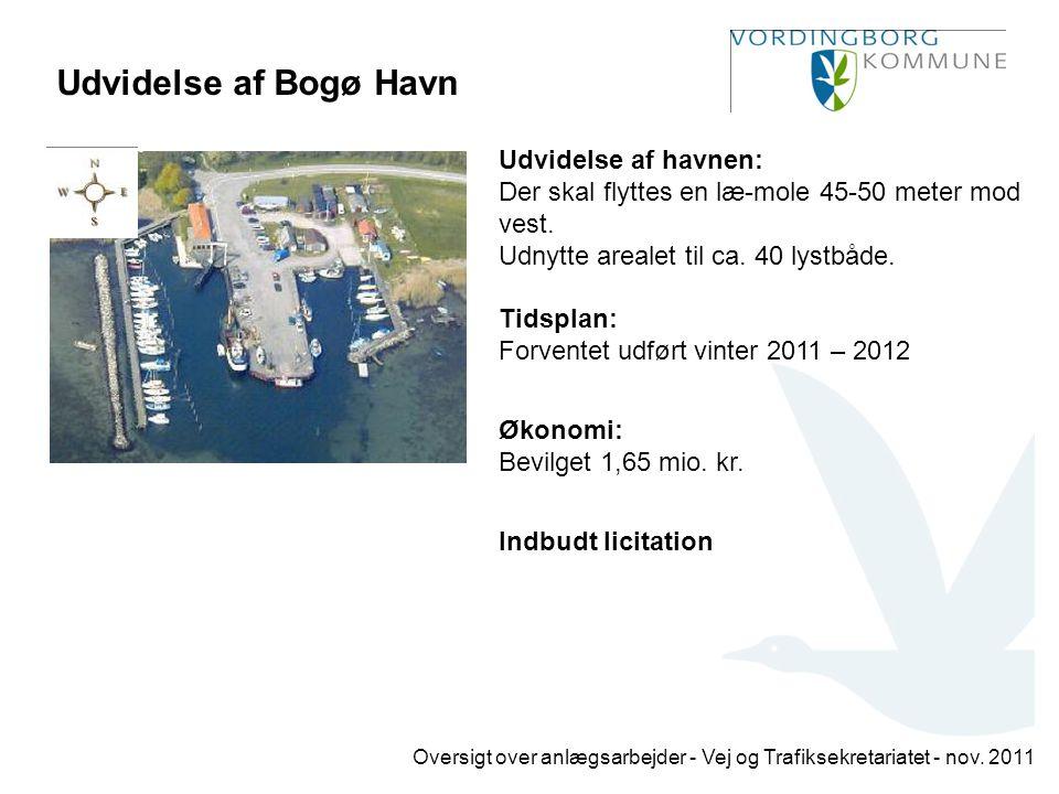 Udvidelse af Bogø Havn
