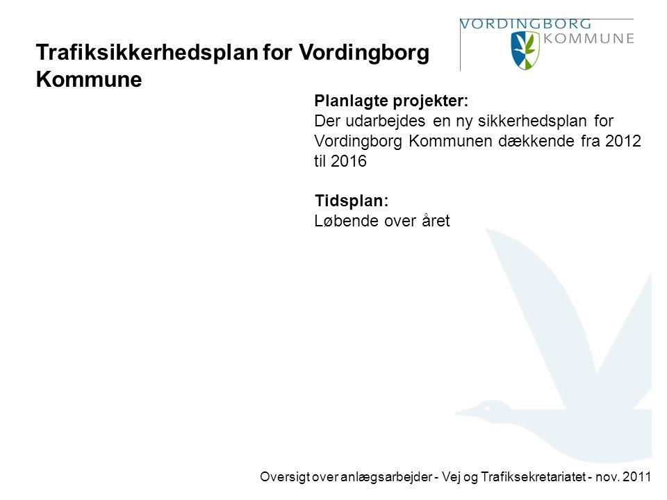 Trafiksikkerhedsplan for Vordingborg Kommune