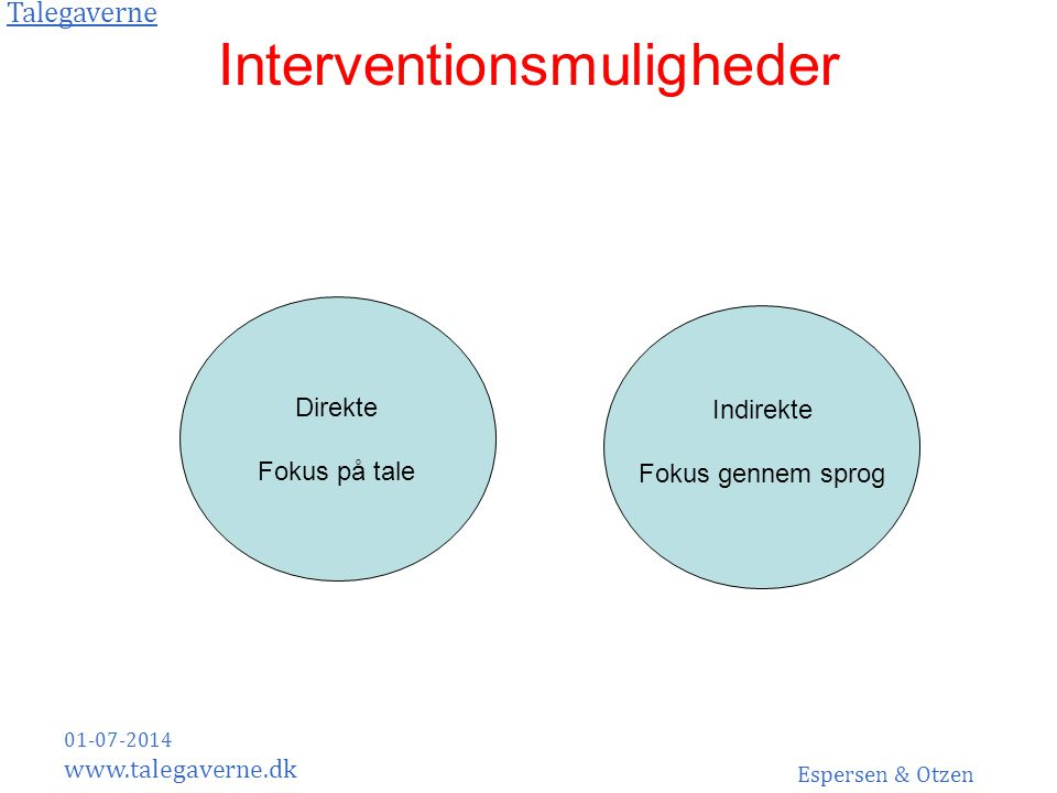 Interventionsmuligheder