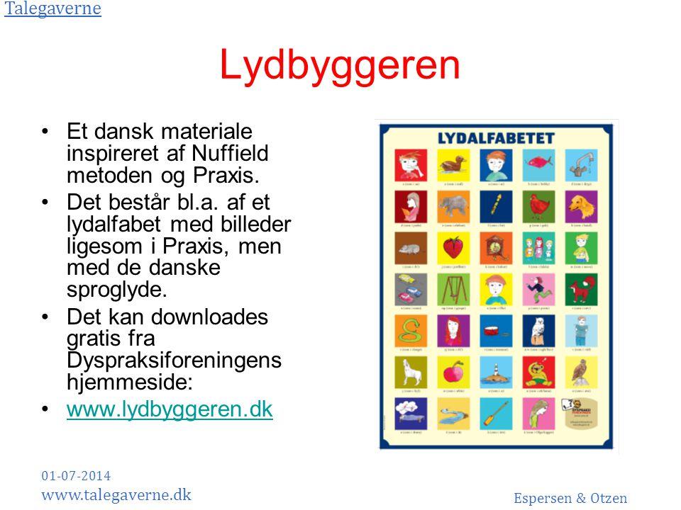 Lydbyggeren Et dansk materiale inspireret af Nuffield metoden og Praxis.