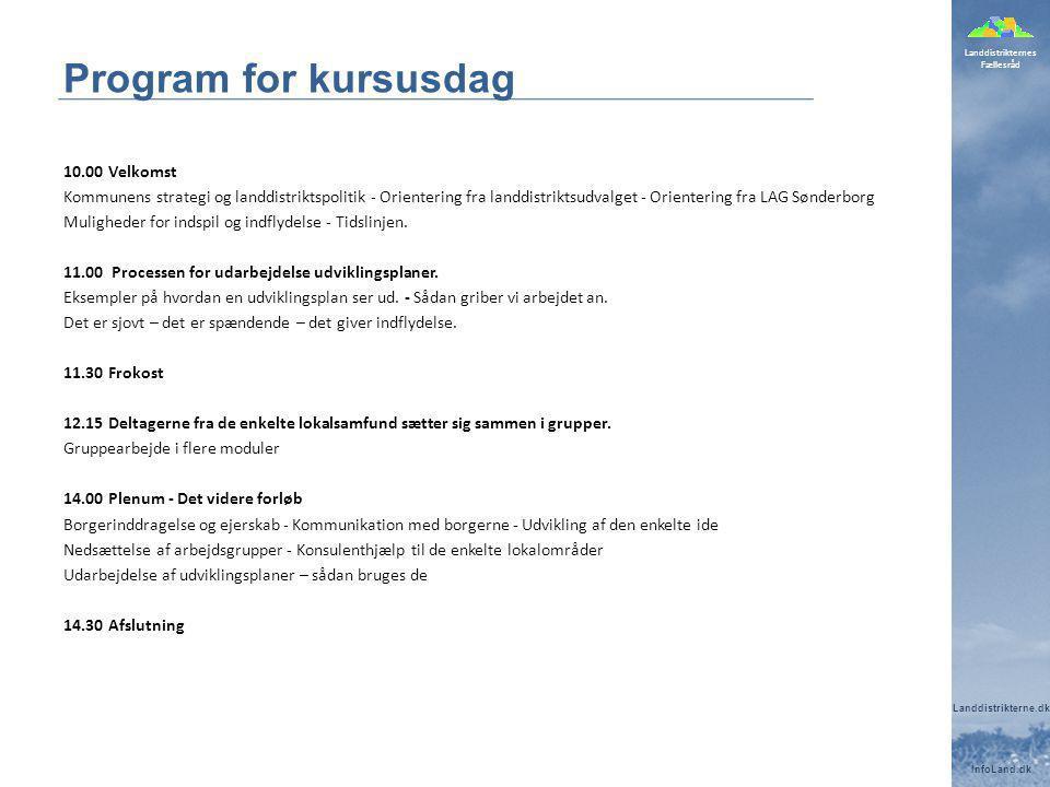 Program for kursusdag