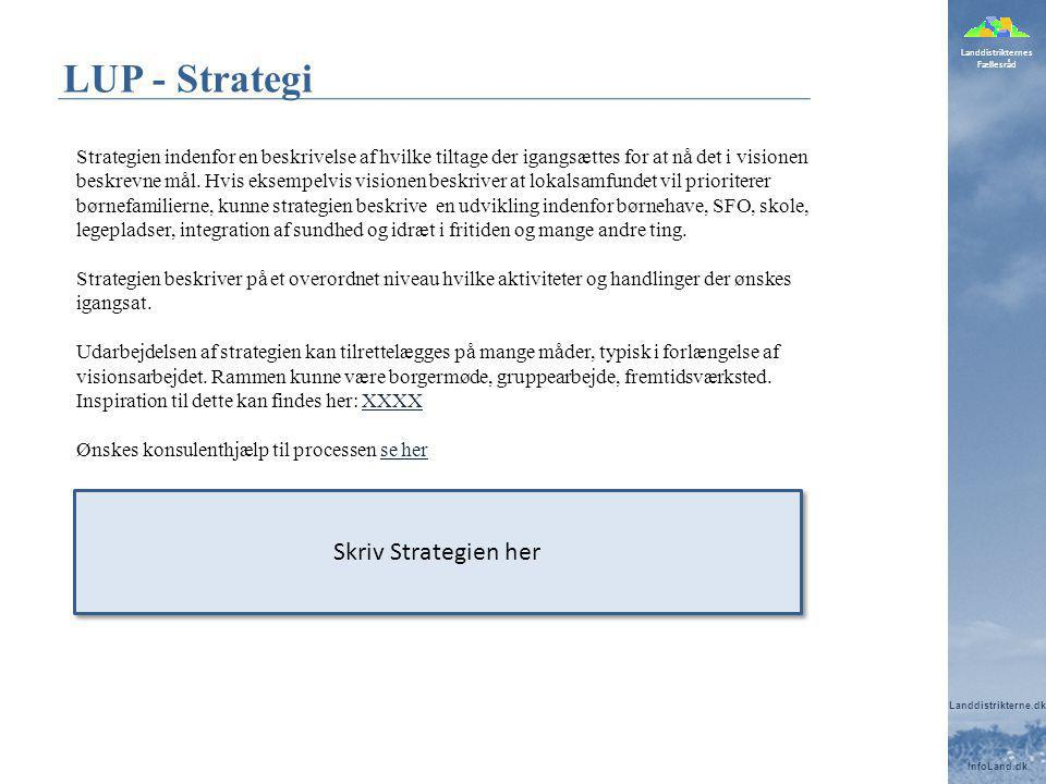 LUP - Strategi Skriv Strategien her
