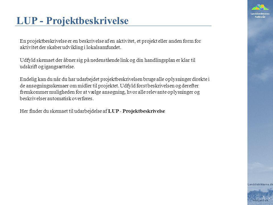 LUP - Projektbeskrivelse
