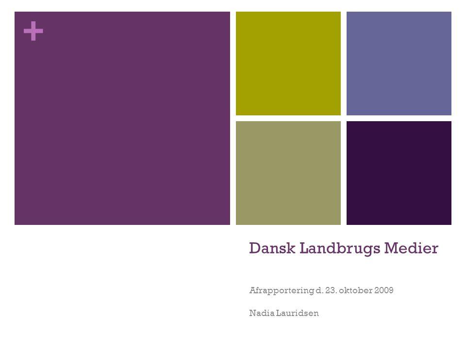 Dansk Landbrugs Medier