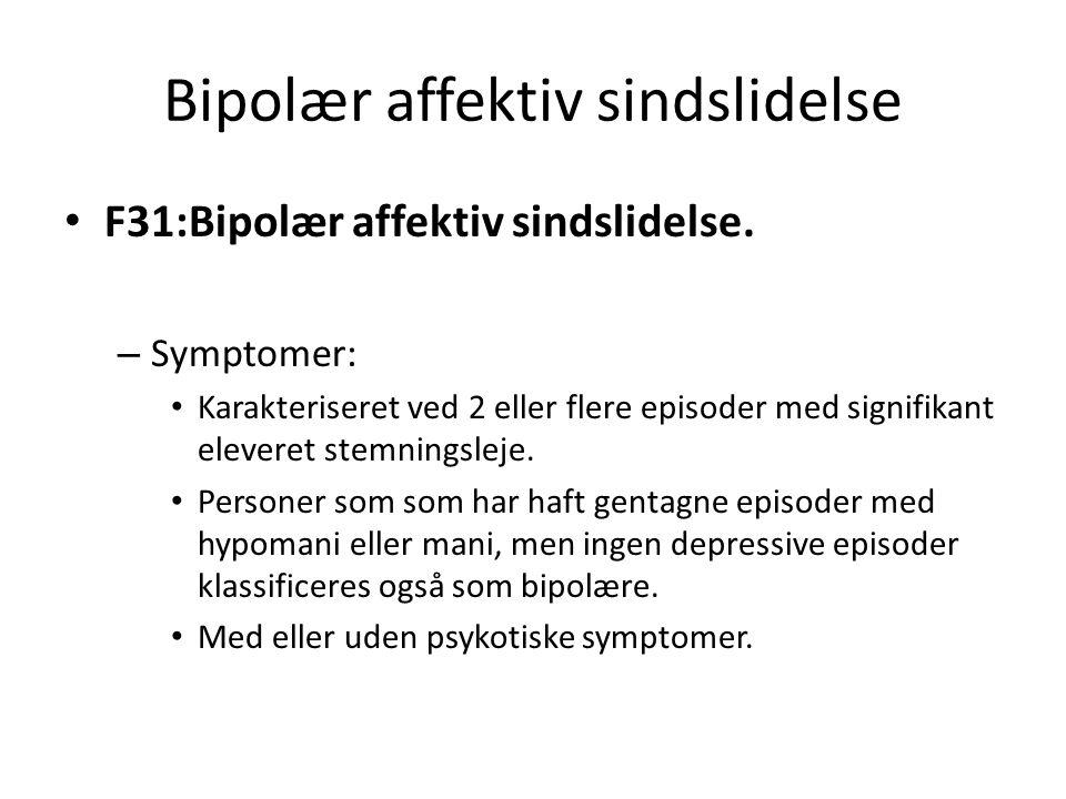 Bipolær affektiv sindslidelse