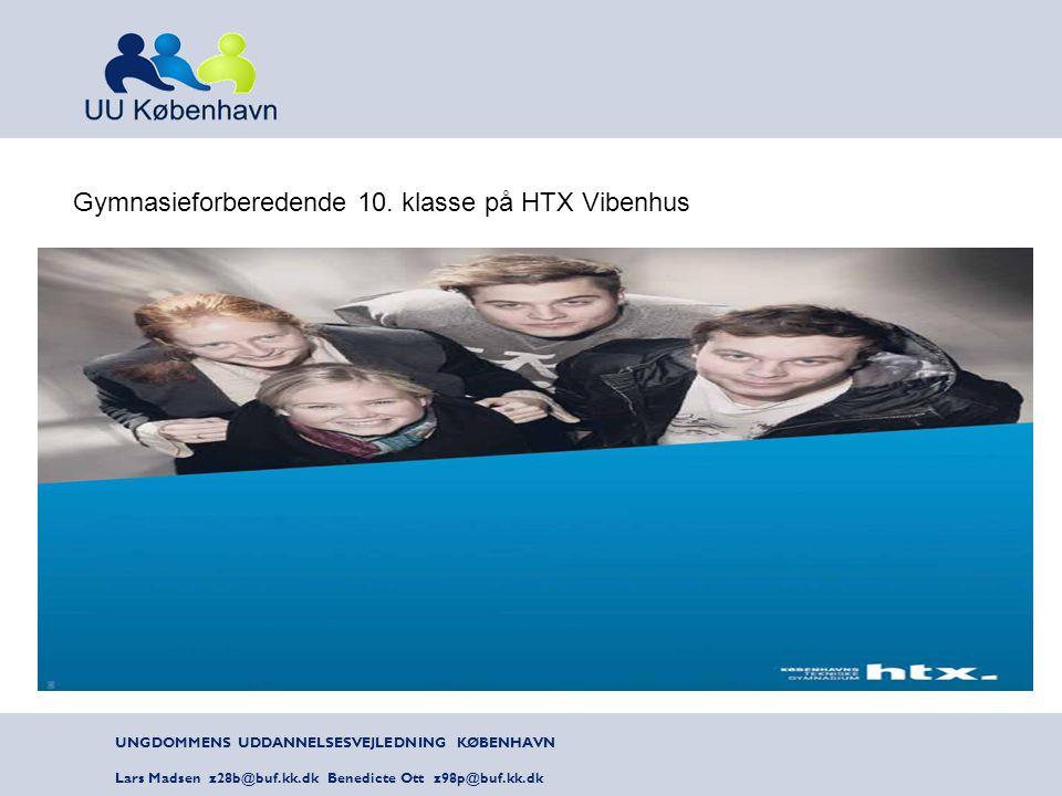 Gymnasieforberedende 10. klasse på HTX Vibenhus