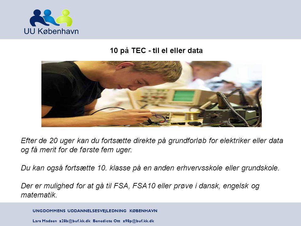 10 på TEC - til el eller data