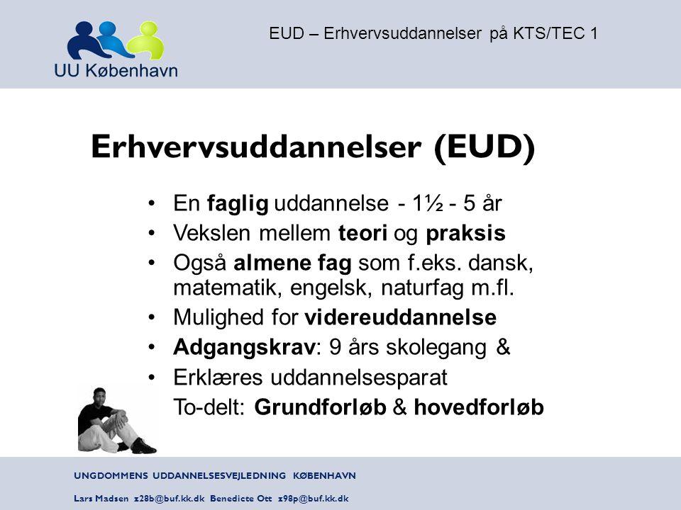 EUD – Erhvervsuddannelser på KTS/TEC 1