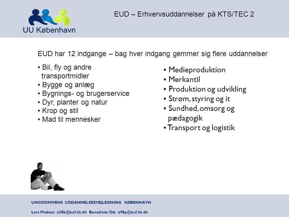 EUD – Erhvervsuddannelser på KTS/TEC 2