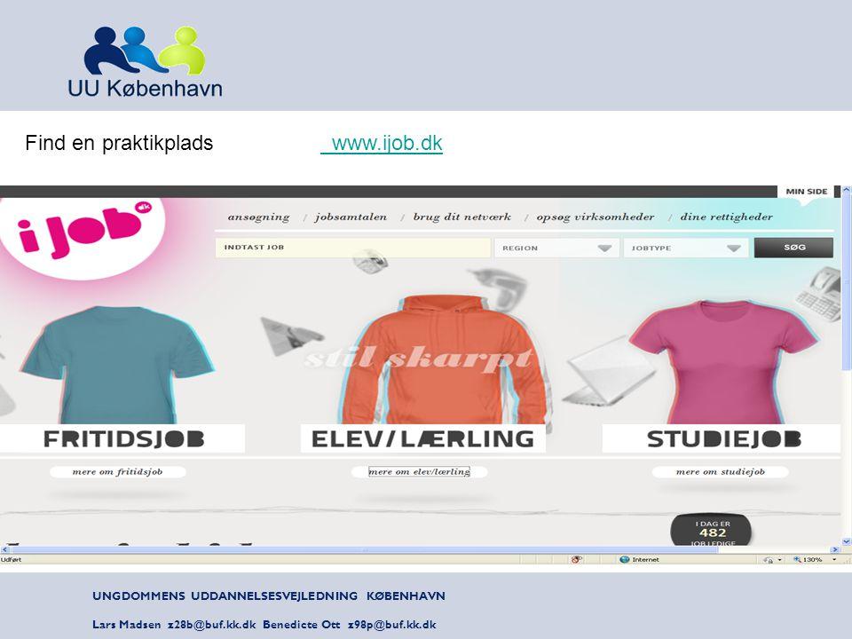 Find en praktikplads www.ijob.dk