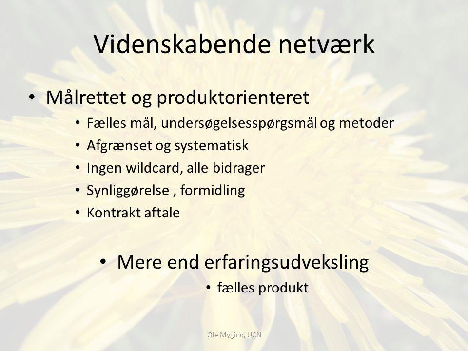 Videnskabende netværk