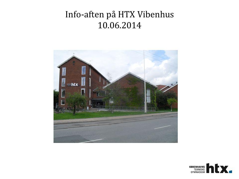 Info-aften på HTX Vibenhus 10.06.2014