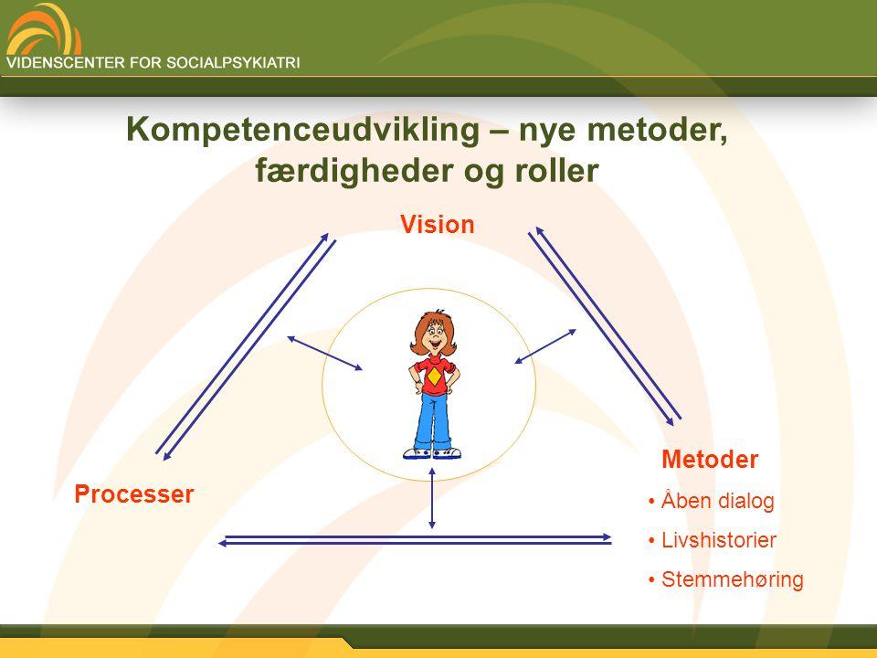 Kompetenceudvikling – nye metoder, færdigheder og roller