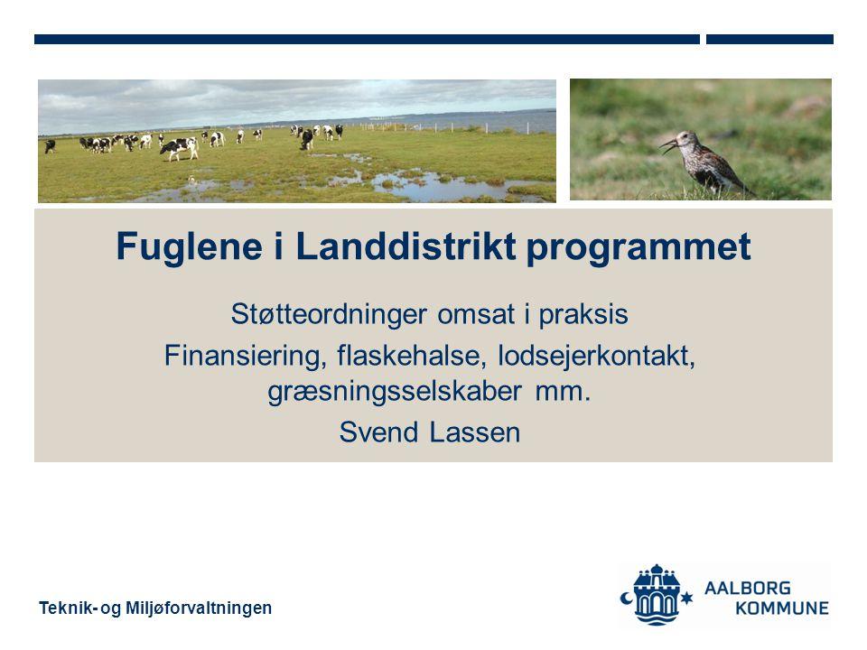 Fuglene i Landdistrikt programmet