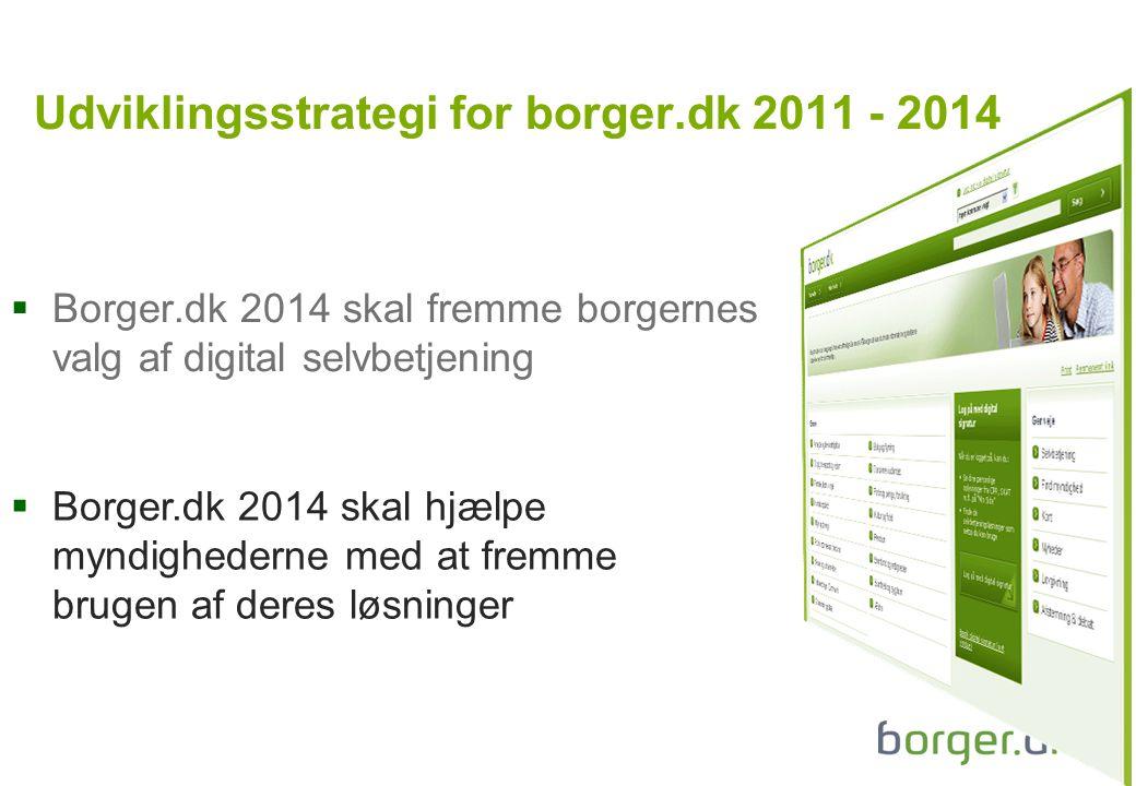 Udviklingsstrategi for borger.dk 2011 - 2014