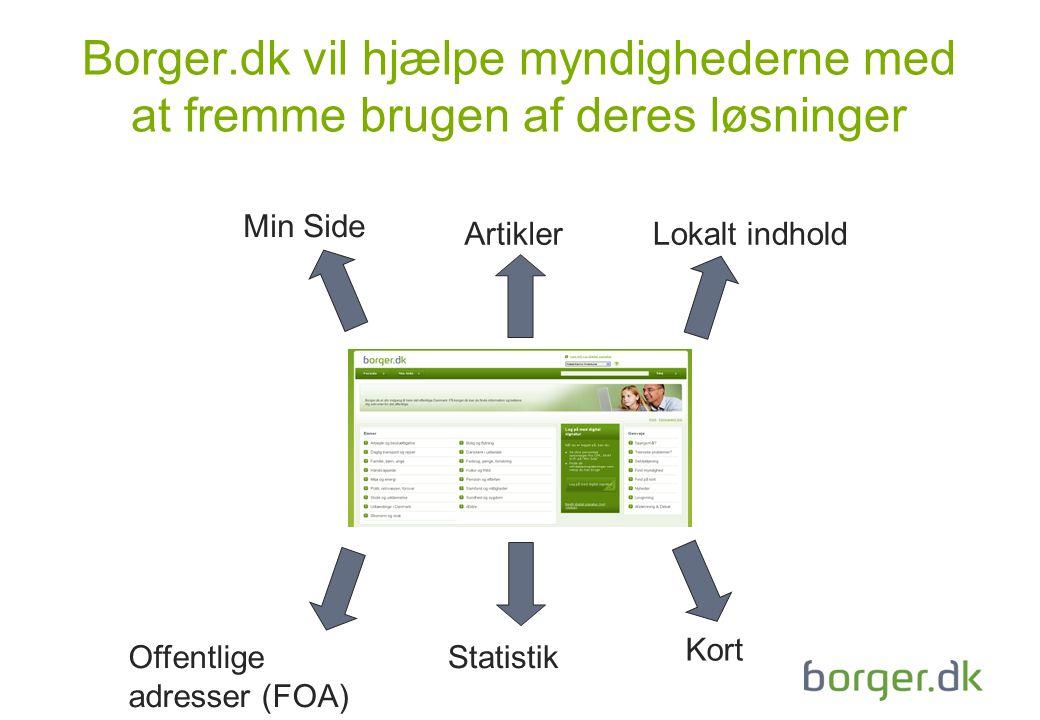 Borger.dk vil hjælpe myndighederne med at fremme brugen af deres løsninger