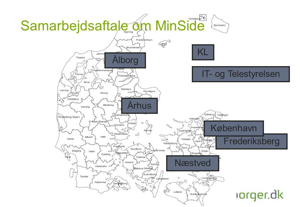 Samarbejdsaftale om MinSide