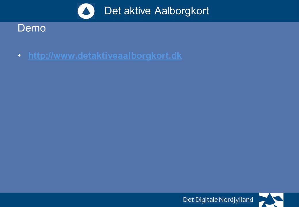 Demo http://www.detaktiveaalborgkort.dk